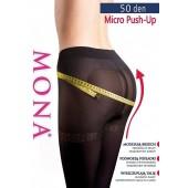 Mona Micro push-up 50den Rozm.2 Rajstopy modelujące